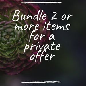 Other - Bundle for a deal!